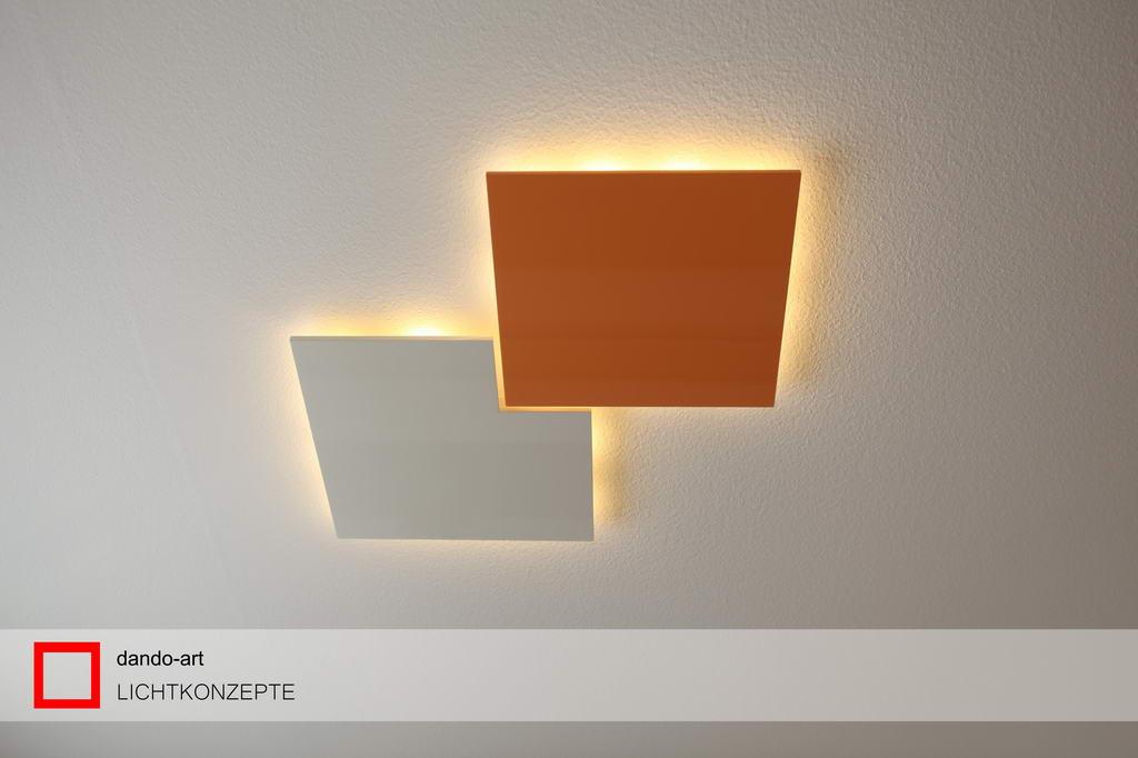 neue led deckenleuchten mit filigraner. Black Bedroom Furniture Sets. Home Design Ideas