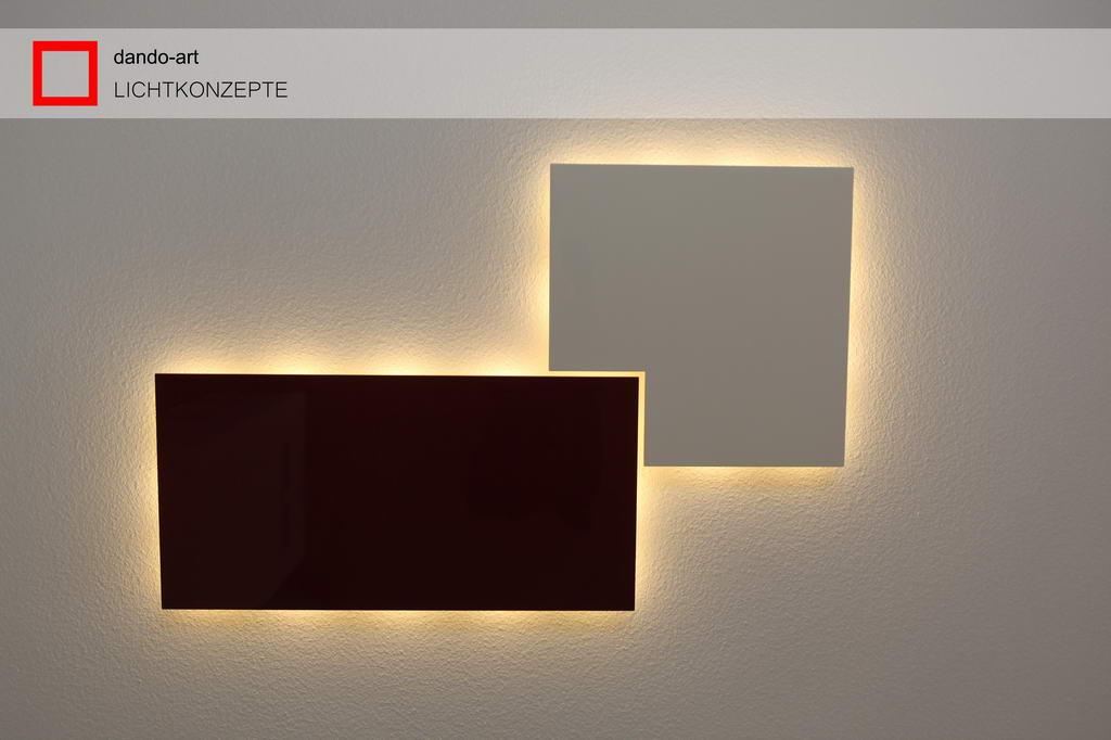 dando-art LED Panel als Deckenleuchte