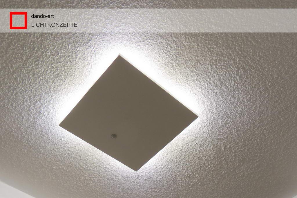 dando-art LED Panel mit integriertem Bewegungsmelder