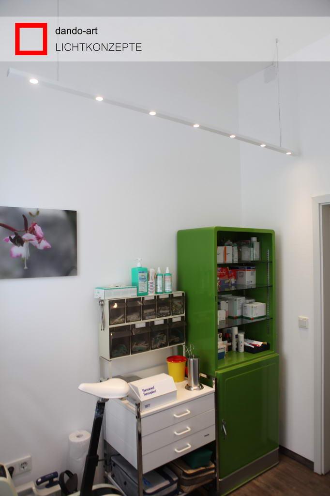 LED-Beleuchtung für Praxis Dr. Lambert