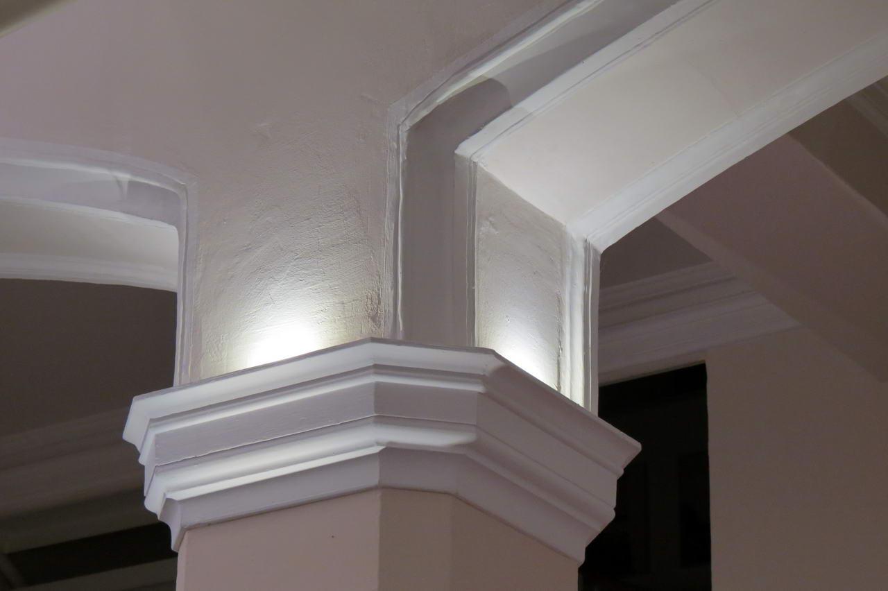 Säulenbeleuchtung mit dando-art LED Sky