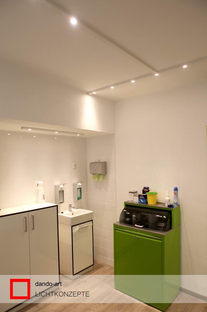 LED Beleuchtung Behandlungsraum, dando-art Lichtkonzepte