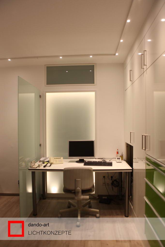 LED Beleuchtung Arbeitsplatz, dando-art Lichtkonzepte