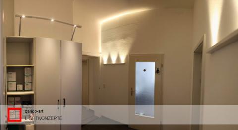 Praxisausstattung Dr. Lambert Würzburg mit LED Leuchten